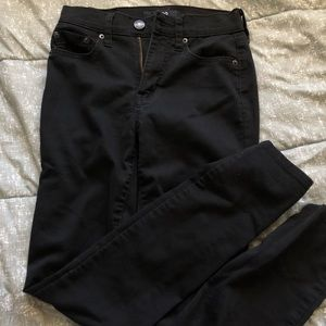 Black Areo skinny jeggings